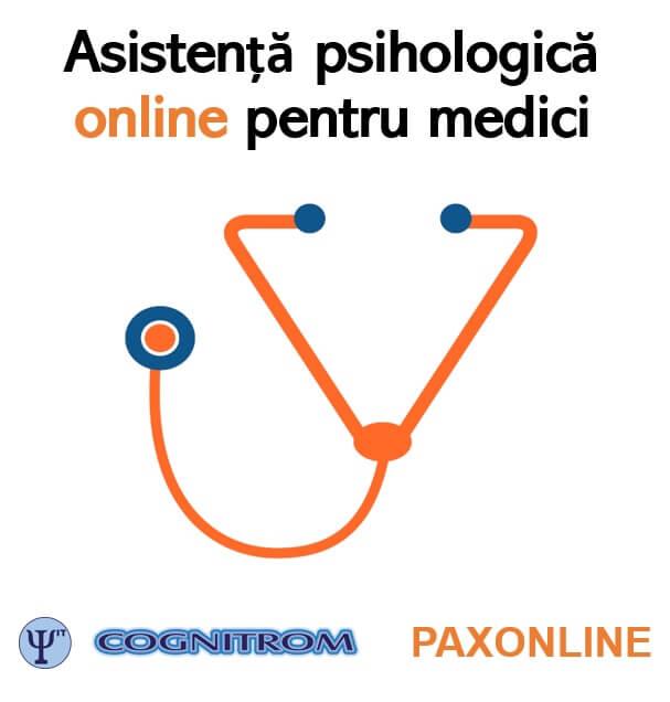 Clinica Paxonline ofera asistenta psihologica pentru medici