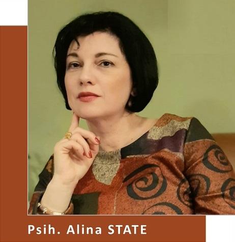 Psihoterapeut Alina State (Partener Depreter-Paxonline)