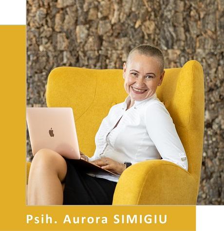 Psihoterapeut Aurora Simigiu (Partener Depreter-Paxonline)
