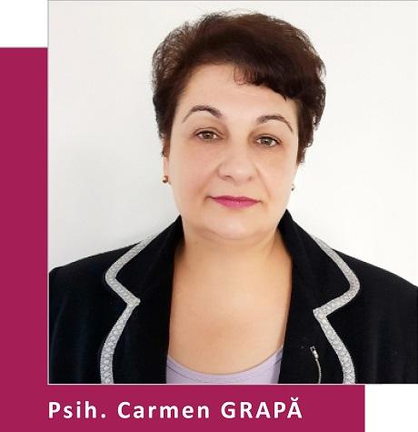 Psihoterapeut Carmen Grapa (Partener Depreter-Paxonline)