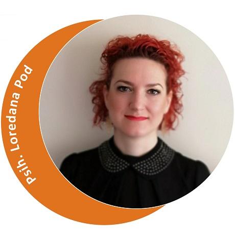 Psihoterapeut Loredana Pod (Partener Depreter-Paxonline)