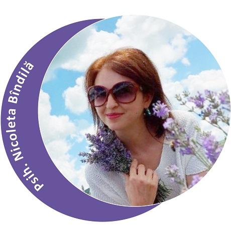 Psihoterapeut Nicoleta Bindila (Partener Depreter-Paxonline)