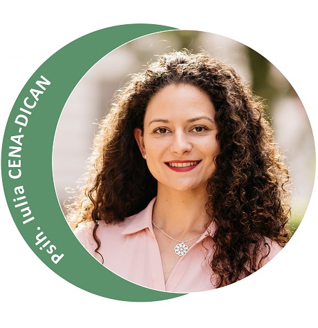 Psihoterapeut Iulia Cena-Dican (Partener Depreter-Paxonline)