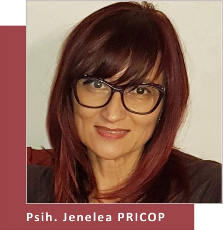 Psihoterapeut Jenelea Pricop (Partener Depreter-Paxonline)