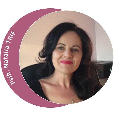 Psihoterapeut Natalia Trif (Partener Depreter-Paxonline)